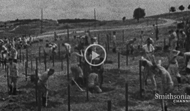 Surreal Footage of British Life Under Nazi Occupation