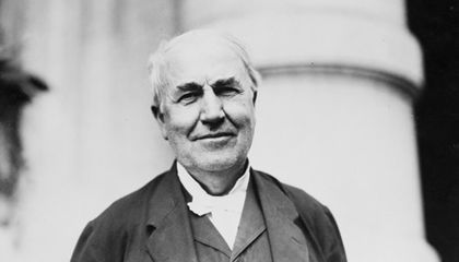 Thomas Edison's Brief Stint As A Homemaker