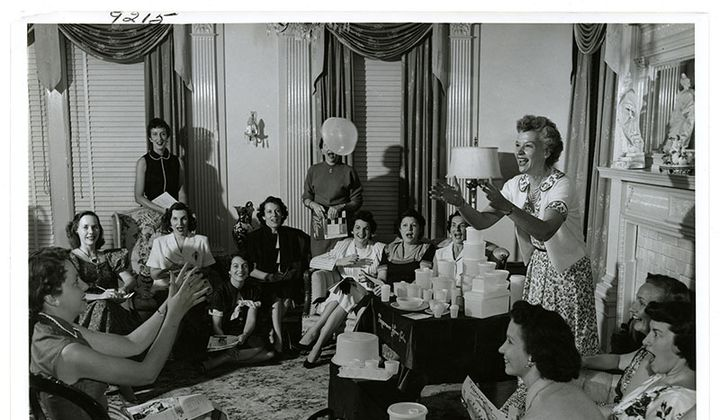 The Story of Brownie Wise and the Tupperware Party