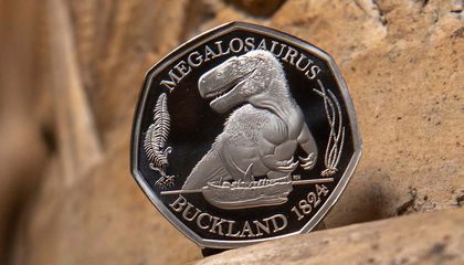 Three Ferocious Dinosaurs Featured on New U.K. Coins