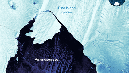 Massive Iceberg Breaks Off From Antarctic Glacier