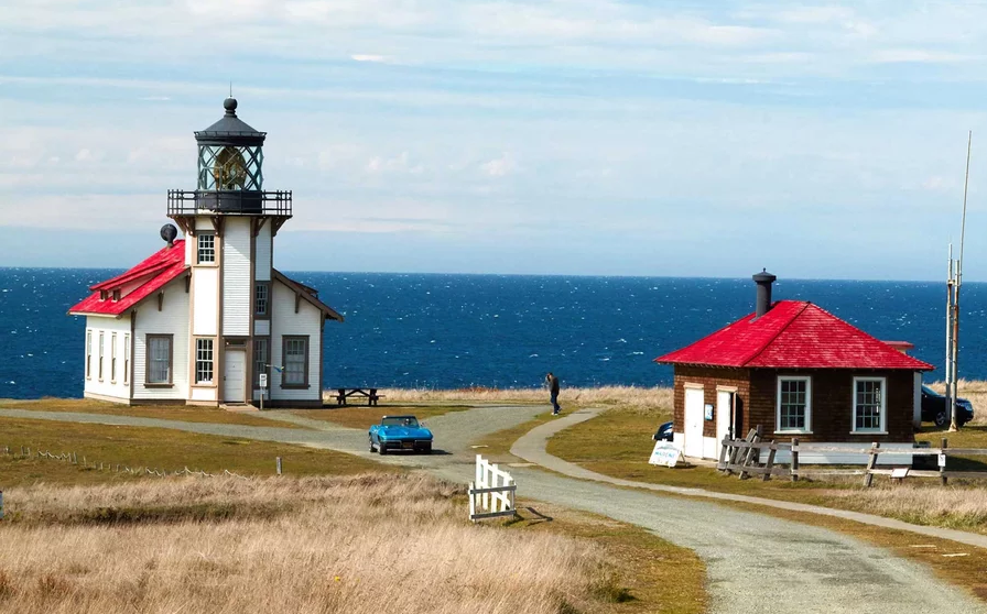 Point Cabrillo Light Station, outside the town of Mendocino.
