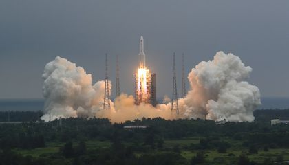 China Begins Building Its First Advanced Space Station