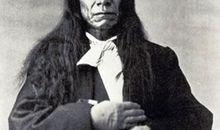 The great Lakota chief Red Cloud