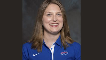 Image: Woman becomes NFL's first female full-time coach
