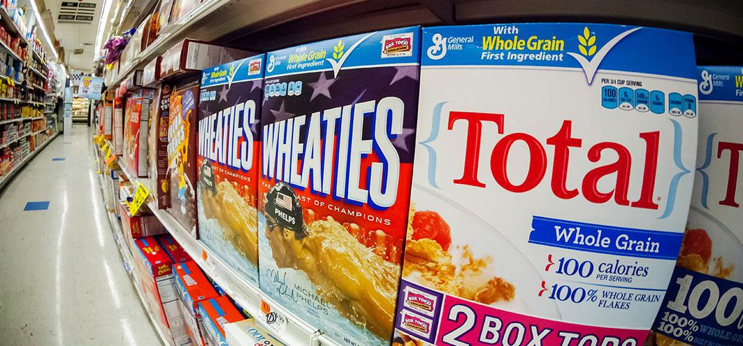 Caption: How Wheaties Became the 'Breakfast of Champions'
