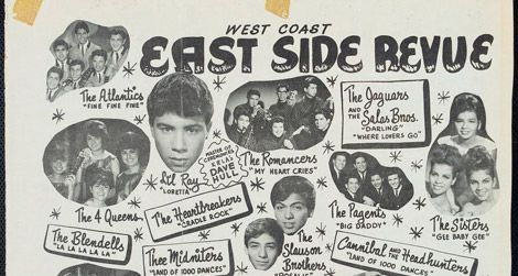 West Coast East Side Revue, Shrine Auditorium, Los Angeles, CA, Sunday February 21, 1965