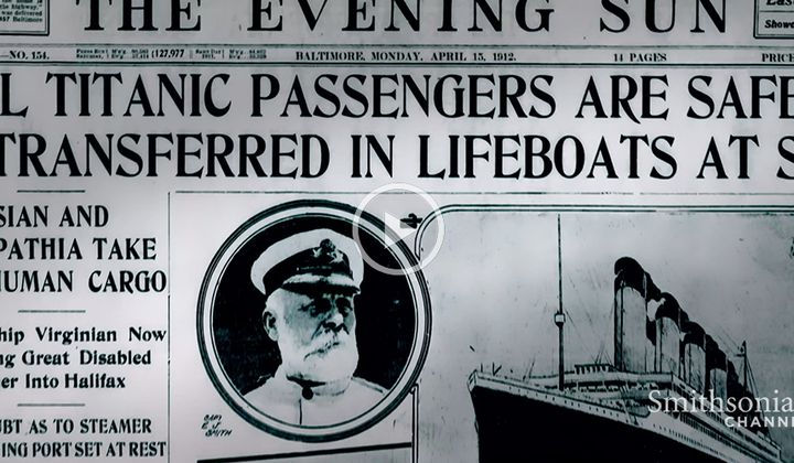 How the Titanic Sinking Became Fake News