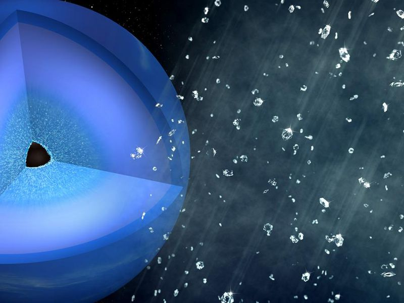 Scientists Simulate Neptune's Mythical Diamond Rain