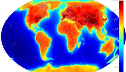 Here is a Map of Earth's Antineutrinos