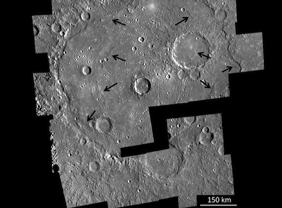 A mosaic of high-resolution images