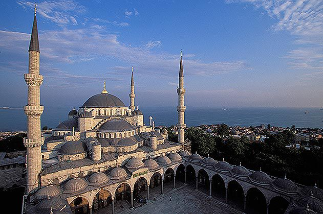 Sultan Ahmed Mosque Blue Mosque Istanbul Turkey