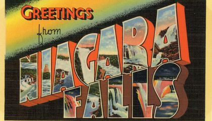 "The Immigrant Story Behind the Classic ""Greetings From"" Postcards"