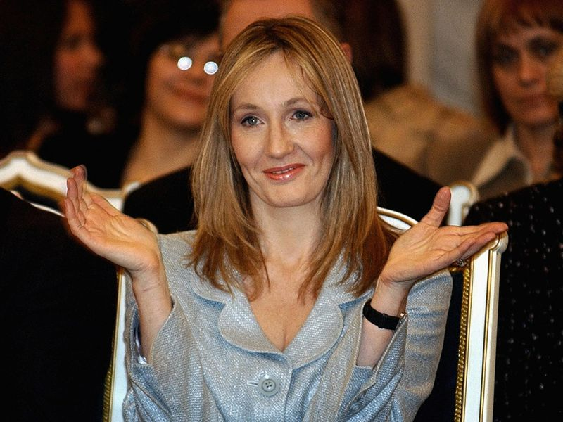 J.K. Rowling Authors Can't Quit