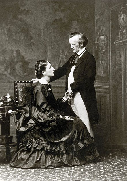 Richard Wagner and Cosima