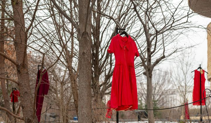 Red Dresses for the Murdered and Missing