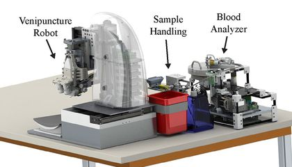 A Robot May One Day Draw Your Blood