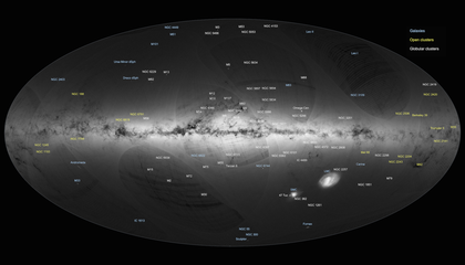 Behold a Billion Stars in This Stunning New Map of the Milky Way
