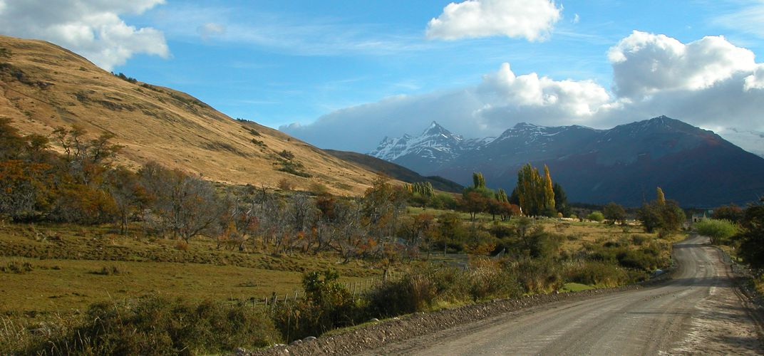 Autumn in El Calafate Argentina