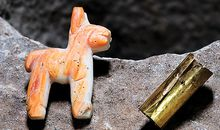 Inca Llama Carving Recovered From Depths of Lake Titicaca
