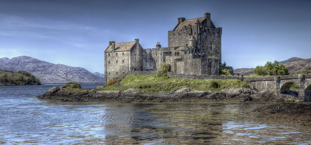 The iconic Eilean Donan Castle, the Highlands