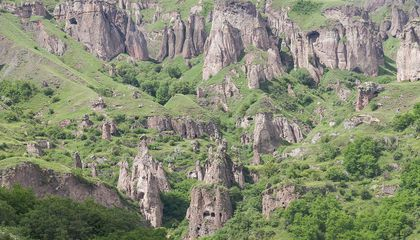 Explore an Ancient Cave City in Armenia