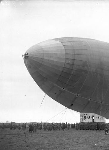 Caption: The Ill-Fated Arctic Airship