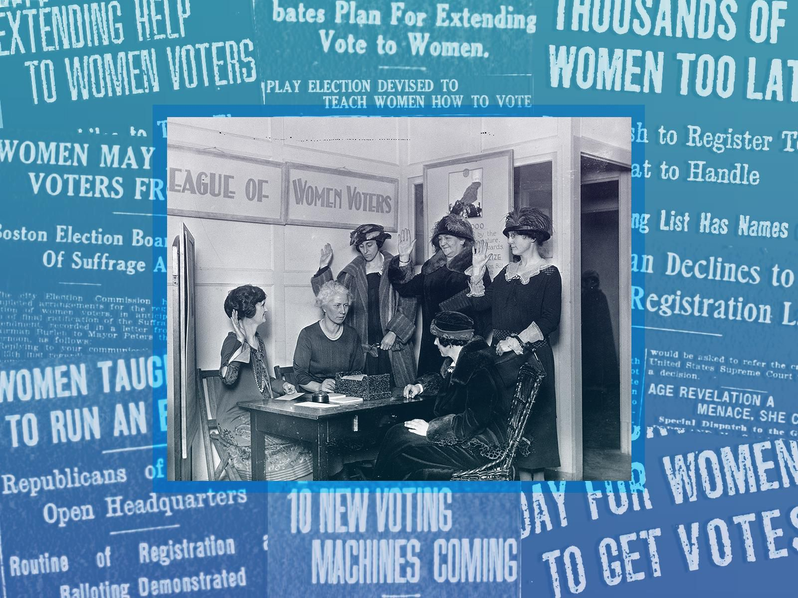 What The First Women Voters Experienced When Registering For The 1920 Election History Smithsonian Magazine