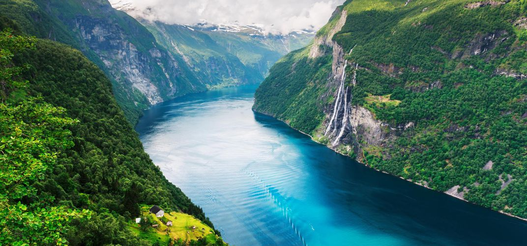 The dramatic Geirangerfjord