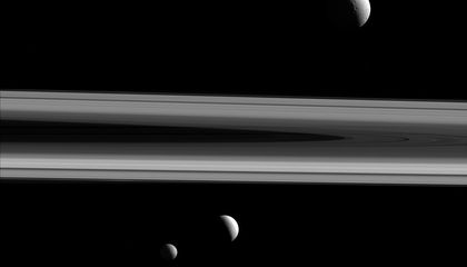 How and When Did Saturn Get Those Magnificent Rings?