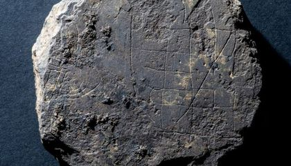 Archaeologists Unearth Medieval Game Board During Search for Lost Monastery