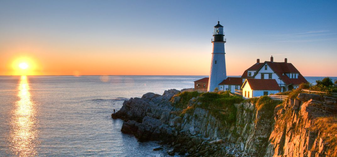 Portland Head Light, Maine. Credit: Courtesy Maine Tourism Bureau