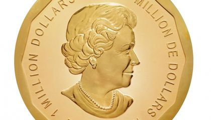 World's Largest Gold Coin Stolen From Berlin Museum
