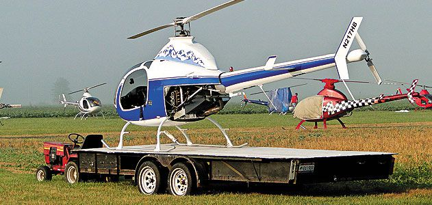 Bell has built a Scorpion Too and an Executive, complete with trailer.