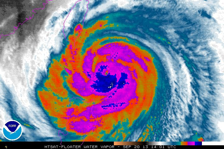 The Strongest Hurricane of the Year Is About to Hit Taiwan