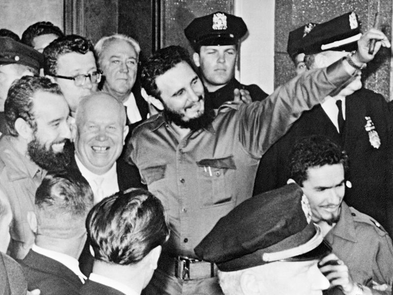 Khrushchev and Castro