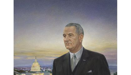 The Presidential Portrait That Was the 'Ugliest Thing' L.B.J. Ever Saw