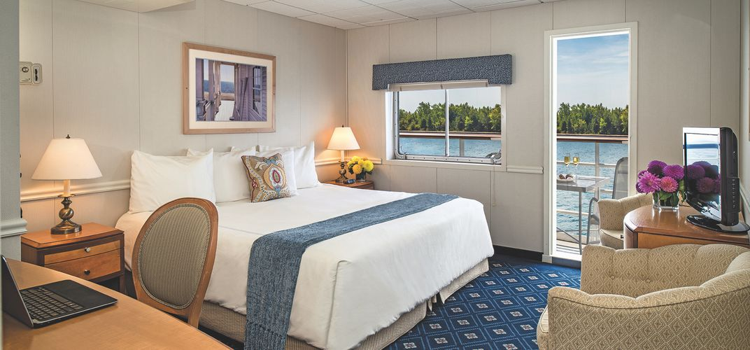 One of many of the amazing rooms with views onboard the American Star