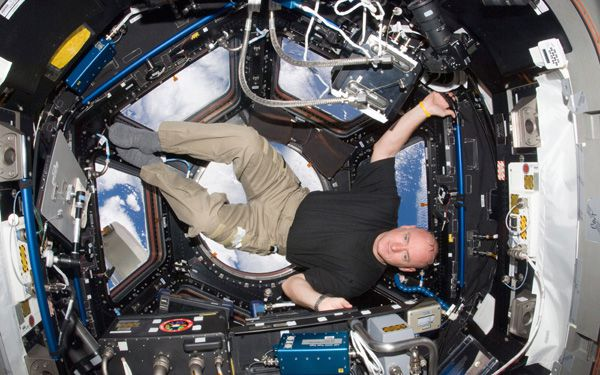 How would you prepare to spend a year in space?