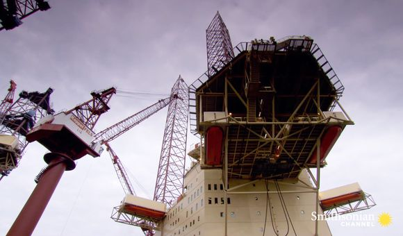 Preview thumbnail for video'How This Giant 65,000-Ton Vessel Carries Larger Ships