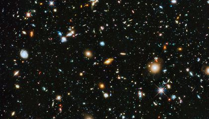 The Universe Is Beautiful in This New Hubble Image