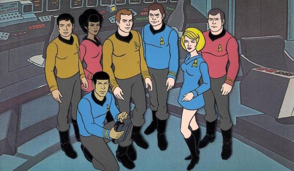 <em>Star Trek: The Animated Series,</em> which aired for two seasons in 1973-4, was Pegg's first exposure to the venerable science fiction franchise.