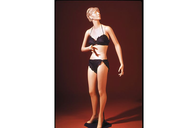 ea278a376eb A bikini designed by the California swim suit company Mabs of Hollywood is  held in the Smithsonian collections. (National Museum of American History)