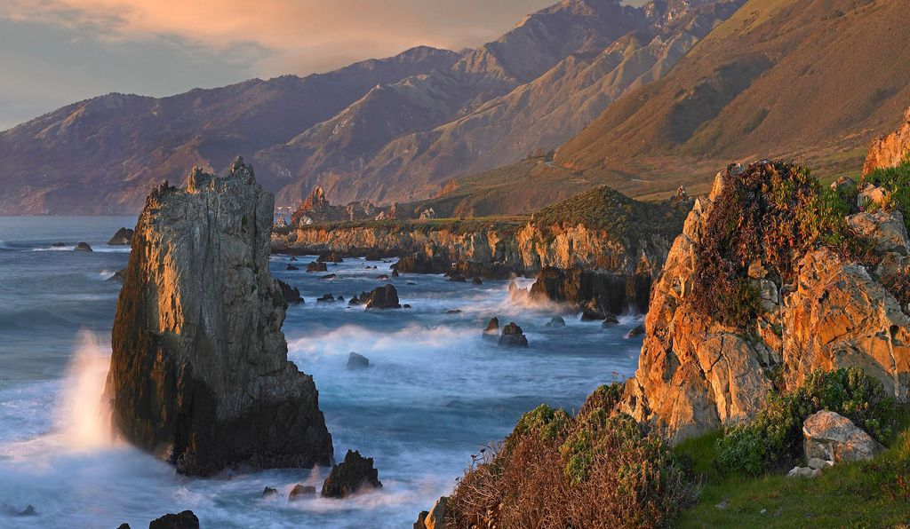 Jade Cove in Big Sur, California, is a popular destination for jade hunters.