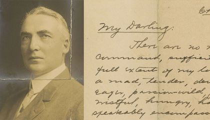 Warren Harding's Love Letters Finally Give Us Something to Remember Him For