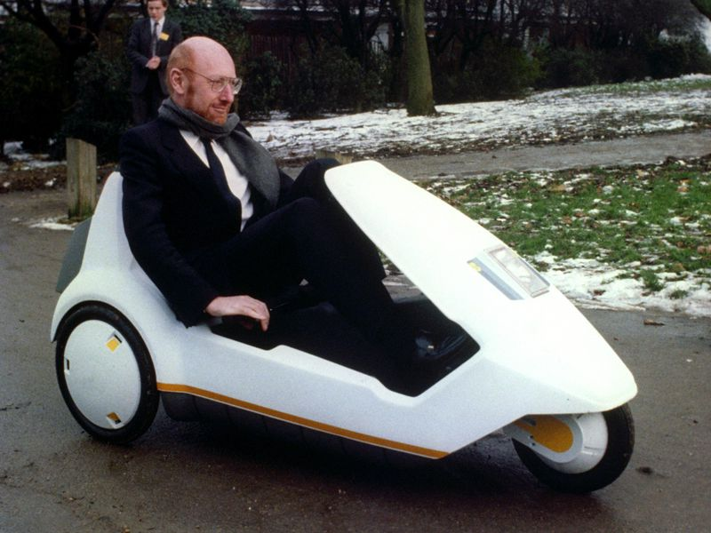 This Three-Wheeled, Battery-Powered Plastic Car-Bike Was a Giant ...