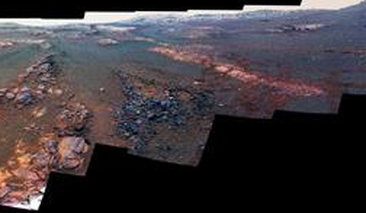 NASA Releases Opportunity Rover's Final Panorama