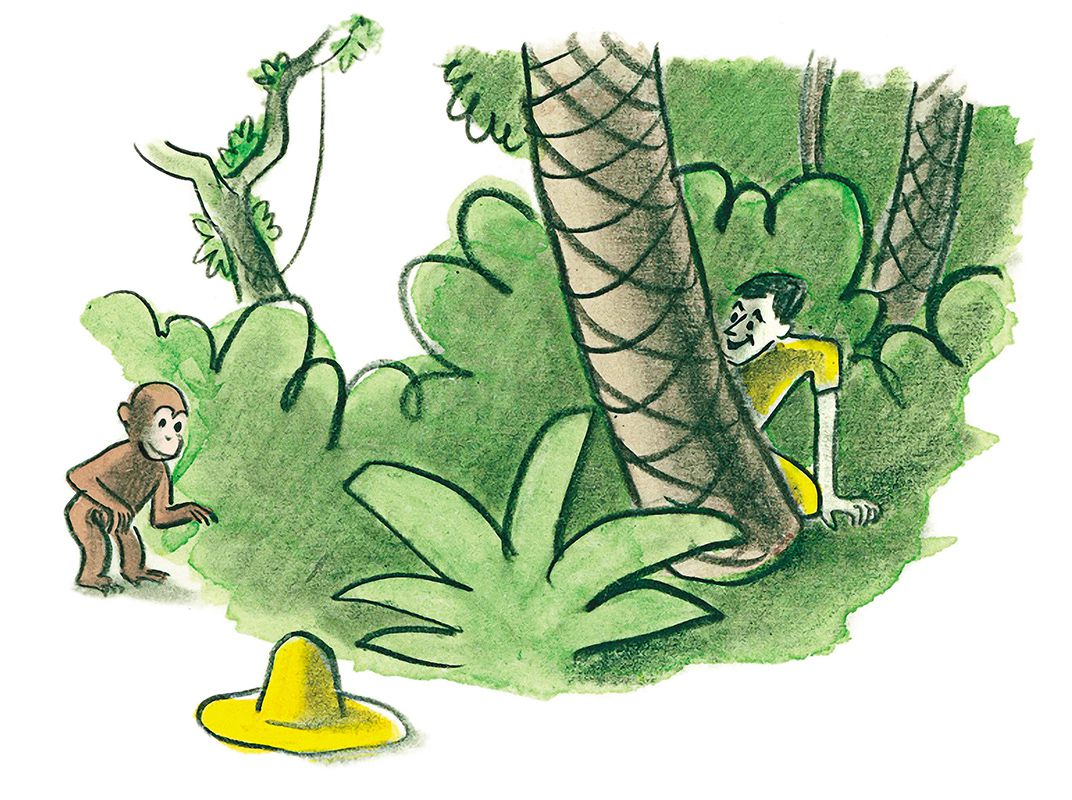 curious george plants a tree rey h a