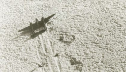 The Wreck of a WWII Fighter Plane Will Be Unearthed from a Greenland Glacier