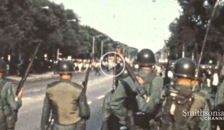 Anti-War Protests Turned Violent in 1968